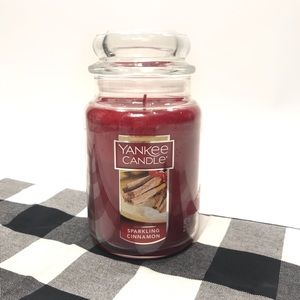 Yankee Candle Sparkling Cinnamon Candle 22 oz.
